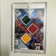 3-star Swatches 2009-10 Sp Game Used Kobe Bryant Leblon James Kevin Durant Ud