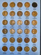 29 Coin Lincoln Wheat Cent Set Page 3 1909-1940 Whitman 9004 Collection Lot -31s