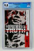 Department Of Truth 1 Cgc 9.8 Foil Edition Variant Cover Image Comics Grail Key