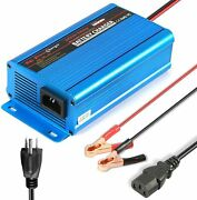24v 5amp Automatic Battery Charger Maintainer With Alligator Clips