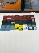 Lot Of 24 Sony Playstation 2 Ps2 Memory Cards