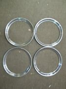 1960-70 Ford Car New 14-inch Wheel Trim Ring Set Of Four