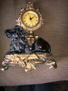 Antique Reproduction French Look Clock Stunning Mantle Piece Looks Awesome