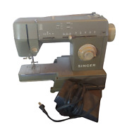 Singer Sewing Machine Heavy Duty Hd110c Metal Foot Pedal Quilter Table See Video
