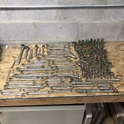 Huge Lot 150+ Craftsman Tools Sockets Wrenches Ratchets And More