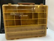 Vintage Magnum By Plano Two-sided Fishing Tackle Box