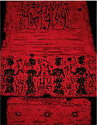 """Castel, Moshe""""the Procession."""" Hand-knotted Wall-hanging Tapestry"""
