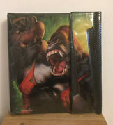 Vtg Mead No Rules Trapper Keeper Gorilla Playing Football 3 Ring Binder New 1992