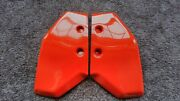 1986-1987 Honda Atc 200x Tank Shrouds/air Scoops,repro, Nos,oe 86 Red