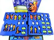 Scooby-doo Chess Set Custom Hand Sculpted Hand Painted Pcs Collectible Tin Box