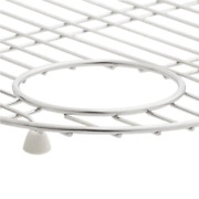 Executive Chef 17-5/8 In. X 14-1/4 In. Bottom Sink Bowl Rack For Left-hand Bowl