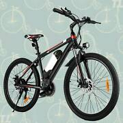 26and039and039 Electric Bike Mountain Bicycle Damping Ebike Shimano 21speed Shifter Style
