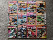 Vintage 1990 Radio Control Car Action Magazine Lot Complete Set Of All 12 Issues