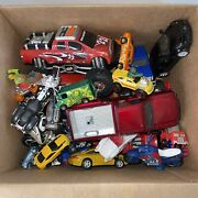 Junk Drawer Lot Of Toy Cars And Trucks Various Conditions See Pics