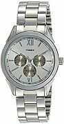 Timex Analog Silver Dial Menand039s Watch-tw000y913 _30213