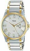 Timex Analog White Dial Menand039s Watch-tw000 111 _30333