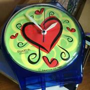 Ultra-rare Model Maxi Swatch Valentine's Day Models Wall-mounted _28922