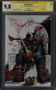 King Spawn 1 1250 Signed By Todd Mcfarlane Graded Cgc 9.8 Image Comics Gb04