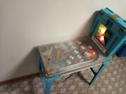Vintage 60and039s/70andrsquos Marx River Boat Electronic Pinball Machine Lights Up Working