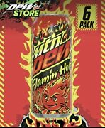 Mountain Dew Flaminandrsquo Hot - Single Can - Ships Fast