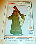Renaissance Medieval Chatelaine Costume Sewing Pattern Cosplay Larp Miss 10-24