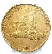 1857 Flying Eagle Cent 1c Penny Coin - Certified Pcgs Au Details - Rare Type