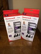 New Honeywell Hrf-h2 Air Purifier Replacement Hepa Filters 2 Boxes Qty 4 Filte