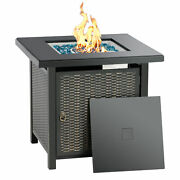 Bali Outdoor 28 Square Fireplace Propane Fire Pit Patio Gas Table 50000btu