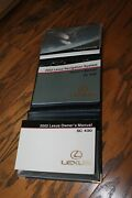 2002 Lexus Sc430 Sc 430 Owners Manual With Case And Navigation Manual Lex885