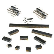 Pin Pcb Male Female Header Connector 2.54mm Pitch Double Row Arduino Breadboard