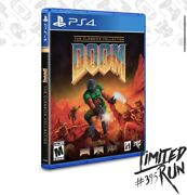 Sold Out Preorder Ps4 Ps5 Limited Run 102 Doom The Classics Collection