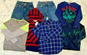 Boys Clothes Lot Size 10-12 M - L Youth Fall Winter Lot 327 Hoodie Jeans