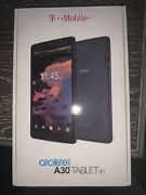 Alcatel A30 9024w Tab Wifi + Lte Cellular T-mobile 16gb 8in Tablet Black New