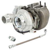 For Dodge Ram 2007-2011 Stigan Turbo Turbocharger W/ Gaskets And Oil Line Dac