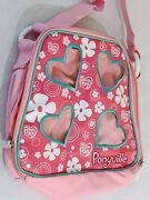 My Little Pony Carrying Case Ponyville Toys Soft-sided Storage Pockets 8x9-in