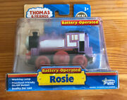 2011 Learning Curve Wooden/diecast Thomas Train Battery Operated Rosie New