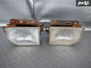 Old Car Parts Nissan Genuine E-hz31 Z31 Fairlady Final Fog Light Left And Right