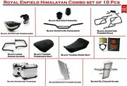 Royal Enfield Pack Of 10 Pcs Himalayan Accessories Combo