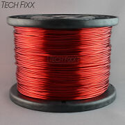 Magnet Wire 14 Gauge Enameled Copper 732 Feet Coil Winding 9.24 Lbs Essex Red