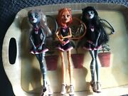 Monster High Fear Leading Squad Toralei Purrsephone And Meowlody Doll Triond22