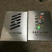 Masamune Shiro Ghost In The Shell S.a.c 2nd Gig Official Log And