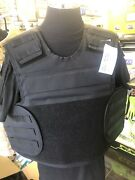 Molle Body Armour Cover Only Male Size Xl Black Aegis