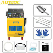 Dry Ice De-carbon Cleaner Car Fuel Engine Intake Throttle Valve Cleaning Machine