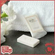 1000-pack 0.4 Oz. Hotel And Motel Wrapped White Travel Size Face And Body Soap