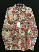 Robert Graham Scriver Abstract 198 X-large New Nwt Classic Fit Fast Ship Xl