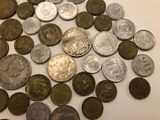 Lot Of 52 Old Antique Brazilian / Brazil Coins