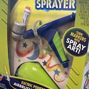 Crayola Electric Air Marker Sprayer Turn Markers Into Airbrush Paint Art