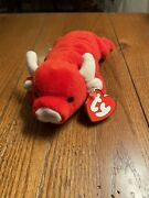 Ty Beanie Baby 3rd/2nd Gen. New Rare Tabasco The Bull With Nm Tags, Nürnberg Pvc