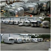 Airstream 1960 Pacer Rare Custom Mobile Office And Camper Coach Gorgeous .polish