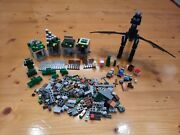 Lego Minecraft 21105 21102 21117 Incomplete Inc Ender Dragon Minifigs And More